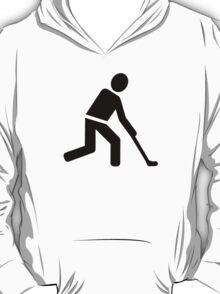 Field hockey player symbol T-Shirt