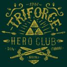 Triforce Hero Club by Azafran