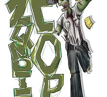 Zombie Cop by iampickledtink