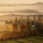 Morning in Tuscany by farhad1371