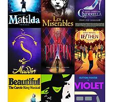 Current Broadway Shows - 1 by abgeter