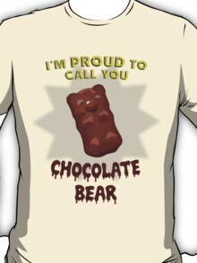 Scrubs - Chocolate Bear T-Shirt