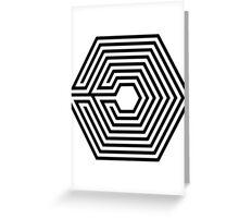 EXO - Overdose (Black) Greeting Card