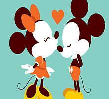 Mickey and Minnie by Sangavi Manickavel