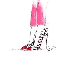 Super Hot Pink Pants by FallintoLondon