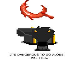 It's dangerous to go alone! Karkat by -AceRimmer