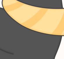 minu, the penguin Sticker