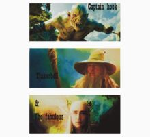 azog, gandalf and thranduil by midgetsheep