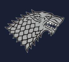House Stark sigil - Dire Wolf by Artpunk101
