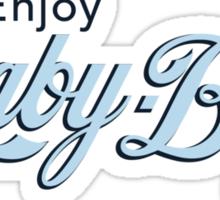 Baby Blue Cystal (light colors) Sticker