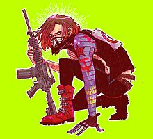 Punk!Winter Soldier by ohcararara