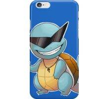 Cool guy squirtle iPhone Case/Skin