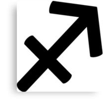 Sagittarius - The Archer - Astrology Sign Canvas Print