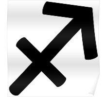 Sagittarius - The Archer - Astrology Sign Poster