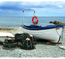 Small Boats with Lobsterpots by hootonles