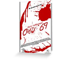 Liberty City Stories - Crazy '69' Greeting Card