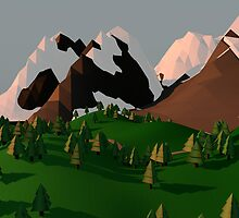 Low Poly Landscape by Julian Micallef