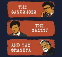 The sandshoes, the chinny and the grandpa by CarloJ1956