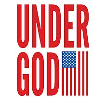 Under God Photographic Print