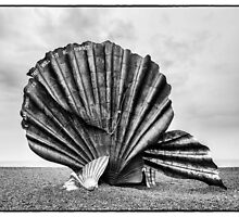 The Scallop, Aldeburgh by Mark Bangert