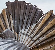 The Scallop, Aldeburgh - Detail by Mark Bangert