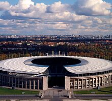 Olympisch Stadion, Berlin 2007 by Michel Meijer
