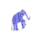 elephant  by eclecticart