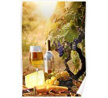 Vineyard Luncheon Poster