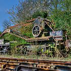Railway Hand Crane and Match by © Steve H Clark