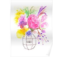 Flower Bomb Poster