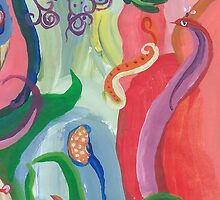 Eel Caught in Abstraction by creationsbyjdb