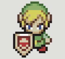 Shield Link Retro Pixel by limehead