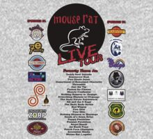 NEW Mouse Rat (Live Tour Edition) Plus Pawnee Sponsors & Former Band Names! by shirtcaddy