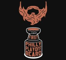 First PHILLY Playoff Beard by pointandthread