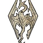 Skyrim Map Logo by Kwon  Woo