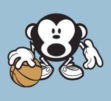 Basketball Monkey by Paducah