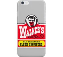 Walkers - Old Fashioned Flesh Chompers iPhone Case/Skin