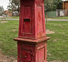 Old Post Box by DavidsArt
