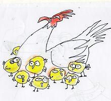 chickens by Matt Mawson