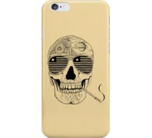 GONZO SKULL (INK ONLY) iPhone Case/Skin