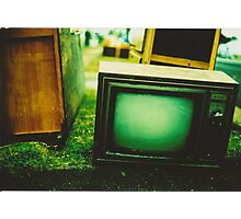 Video killed the radio star Photographic Print