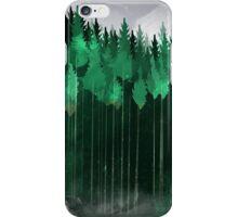 Misty Pines iPhone Case/Skin