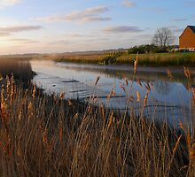 The River Alde - Snape Maltings - Suffolk by James  Key