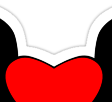 Heart and Wings Sticker