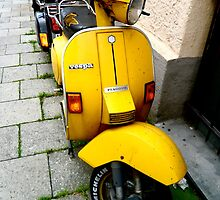 Vespa (1) by Hayley Musson