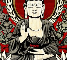 Gautama Budda Colour Crop by GrizzlyGaz