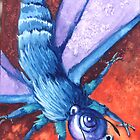 Blue Teapot Moth by marandart