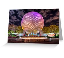 Goodnight, Epcot Greeting Card