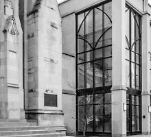 Old vs. New - First Presbyterian Church by Robert Kelch, M.D.