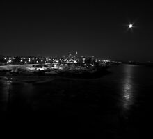 moon over the city by entropic-light